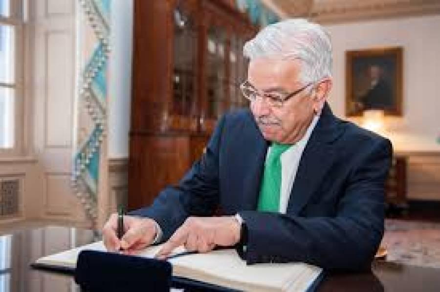 """""""آرمی چیف نے کہا کہ وزیراعظم کے ماضی میں دئیے بیانات آج ان کے سامنے آ رہے ہیں"""" خواجہ آصف نے آرمی چیف سے ملاقات کے موقع پر ہوئی بات بتا دی"""