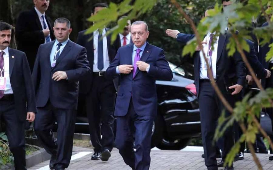 ترک صدر طیب اردوان نے اقوام متحدہ میں مسئلہ کشمیر پر بھر پور طریقے سے آواز بلند کردی