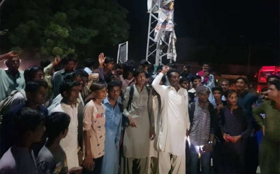 بھارت میں 11 پاکستانی ہندوئوں کے قتل عام اور بھارتی جارحیت کے خلاف پاکستان ہندو کونسل کا بھارتی سفارتخانے کے سامنے احتجاج کے لیے قافلہ روانہ