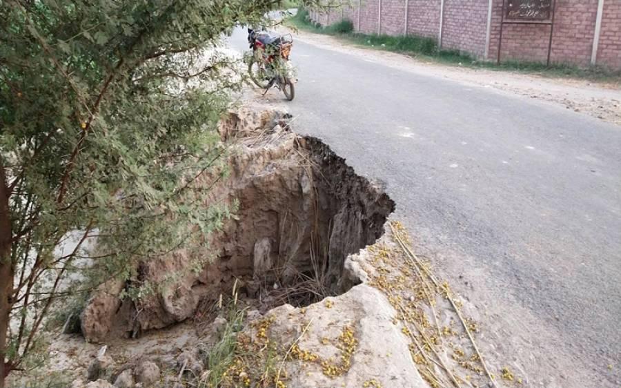 کوٹ سادات بائی پاس ٹوٹ پھوٹ کا شکار، حادثات معمول بن گئے