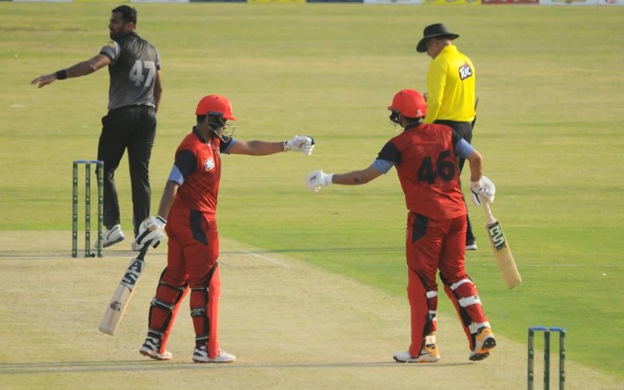 حیدر علی نے نیشنل ٹی 20 کپ کے پہلے میچ میں ہی دھوم مچا دی