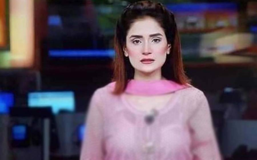 نجی ٹی وی چینل کی نیوز اینکر کے ' باریک ' لباس نے پاکستانی سوشل میڈیا پر ہنگامہ برپا کر دیا