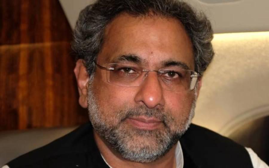 شاہد خاقان عباسی کا وزیر اعظم کیخلاف مقدمہ درج کرانے کا اعلان