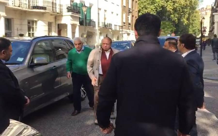 سابق وزیر اعظم نواز شریف سے لندن میں اہم شخصیات کی ملاقات، تفصیلات سامنے آگئیں