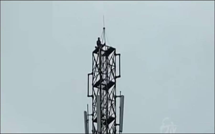 محبت پانے کیلئے ٹاور پر چڑھنے والے 'عاشق' پر شہد کی مکھیوں کا حملہ، پھر کیا ہوا؟ ایسی تفصیلات کہ ہنسی نہ رہے