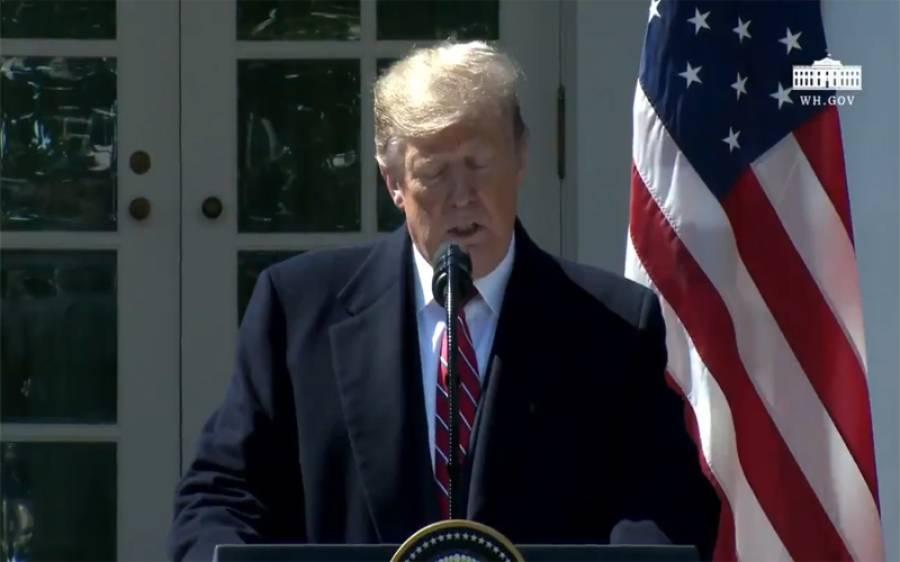 'افغانستان سے امریکی فوجیوں کو کرسمس تک واپس آجانا چاہیے' صدر ٹرمپ نے بڑا اعلان کردیا