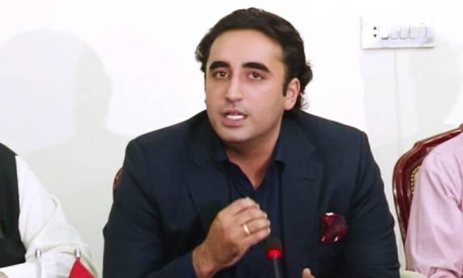 اب عوام کا نہیں عمران خان کے گھبرانے کا وقت ہو چکا:چیئرمین پیپلزپارٹی