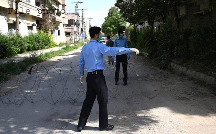 کورونا کیسز میں اضافہ، اسلام آباد کے 3 سیکٹرز کی 10 گلیاں سیل کردی گئیں