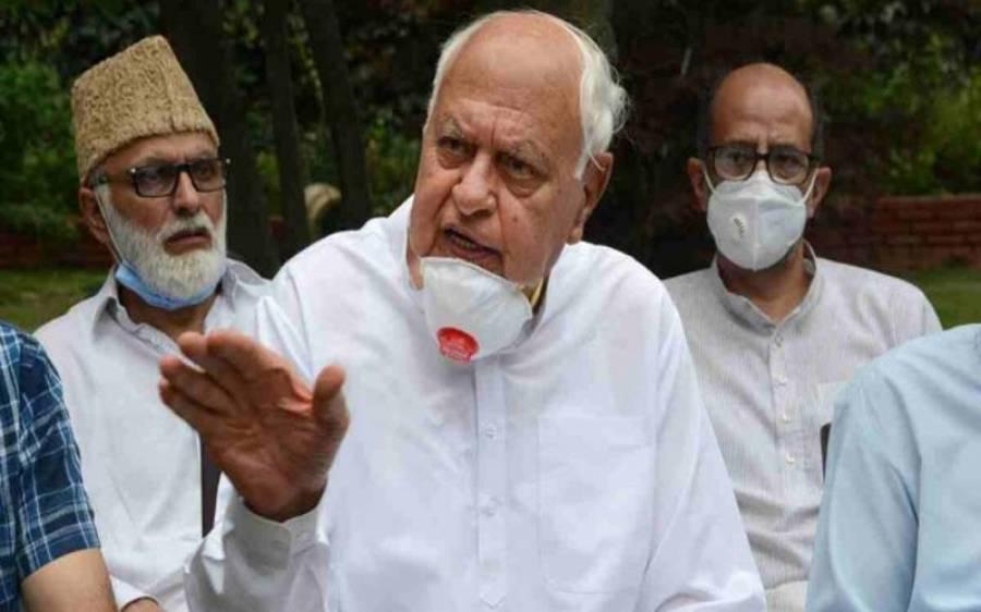 'چین کی مدد سے کشمیر میں آرٹیکل 370 بحال ہوگا' فاروق عبداللہ نے ایسی بات کہہ دی کہ مودی سرکار ہکا بکا رہ گئی