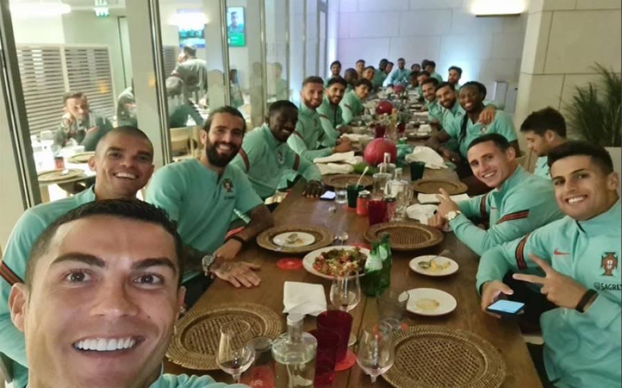 فٹبال کے معروف کھلاڑی کرسٹیانو رونالڈو کو کورونا ہو گیا
