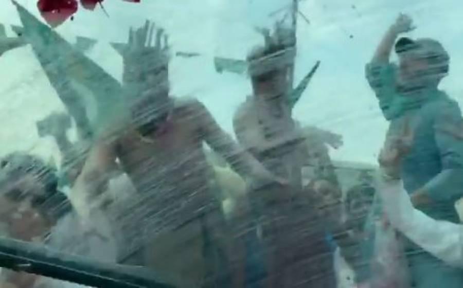 کراچی کا شیدی قبیلہ بھی متحرک، مریم نواز کی گاڑی کے آگے روایتی ڈانس کی ویڈیو وائرل