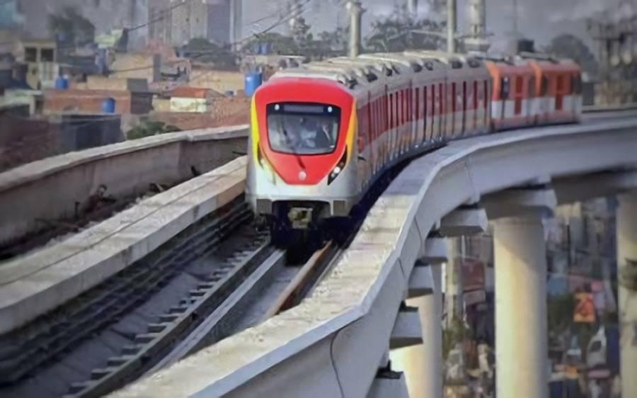 پنجاب حکومت کا26 اکتوبر کو اورنج ٹرین کا باقاعدہ افتتاح کا فیصلہ