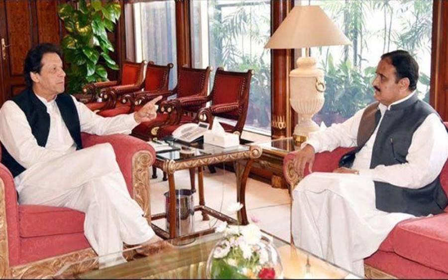 وزیراعظم عمران خان سے وزیراعلیٰ پنجاب عثمان بزدار کی ملاقات