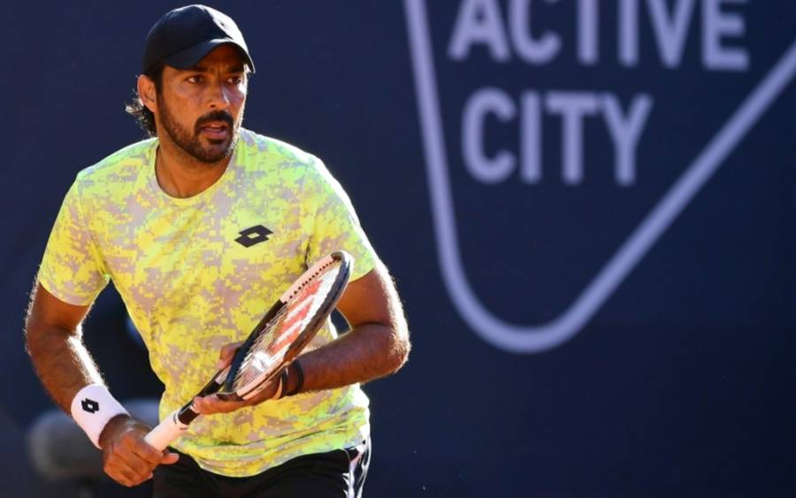 اعصام الحق اور ان کے پارٹنر کولون انٹرنیشنل ٹینس ٹورنامنٹ کے پہلے راﺅنڈ میں ہار گئے
