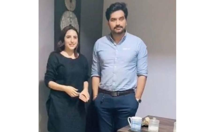 حریم شاہ کی پاکستان کے معروف اداکار ہمایوں سعید کے ساتھ ویڈیو وائرل ہو گئی
