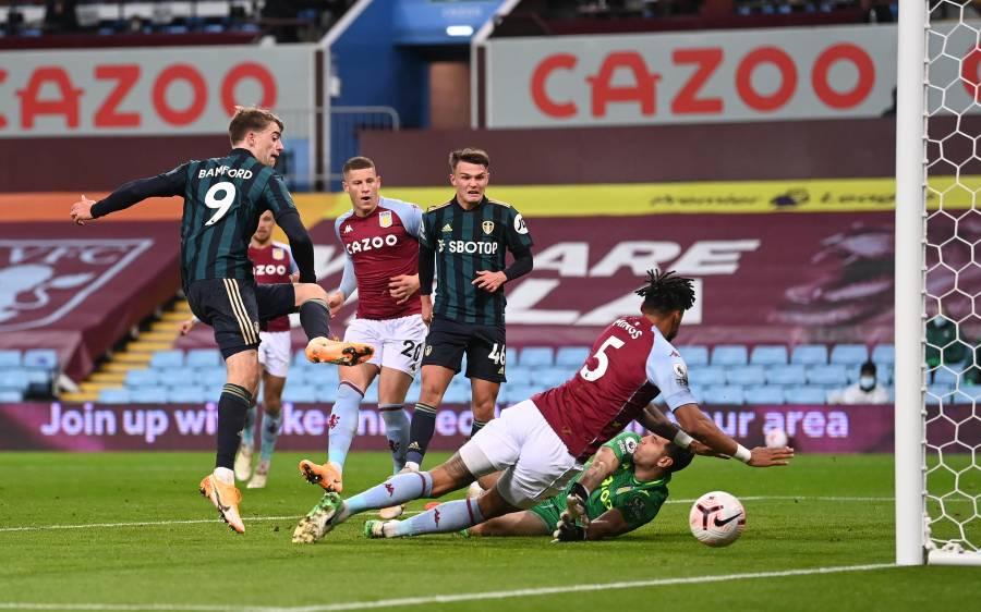 فٹ بال پریمیر لیگ، لیڈز یونائیٹڈ نے آسٹن ولا کو 0-3 سے شکست دیدی