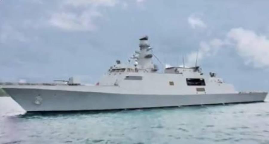پاکستان نے زیر آب اور فضا میں مار کرنے والے ہتھیاروں سے لیس جہاز کی تعمیر کا آغاز کردیا،دفاعی میدان میں بڑی خوشخبری