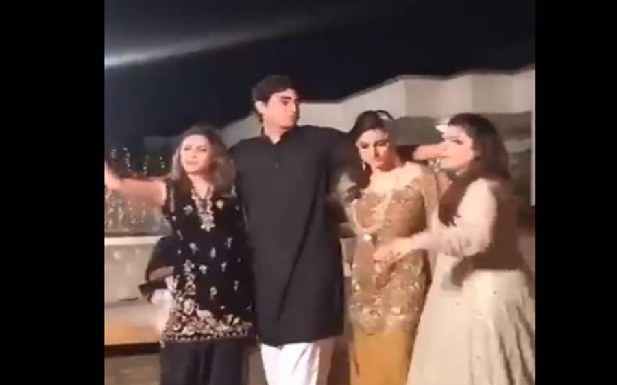 کشمالہ طارق کی اپنی دوسری شادی کی تقریب میں ڈانس کرتے ہوئے ویڈیو سامنے آگئی