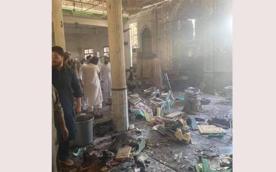 پشاور:دیرکالونی مدرسے میں دھماکا،بچوں سمیت7 افراد شہید،112 افراد زخمی