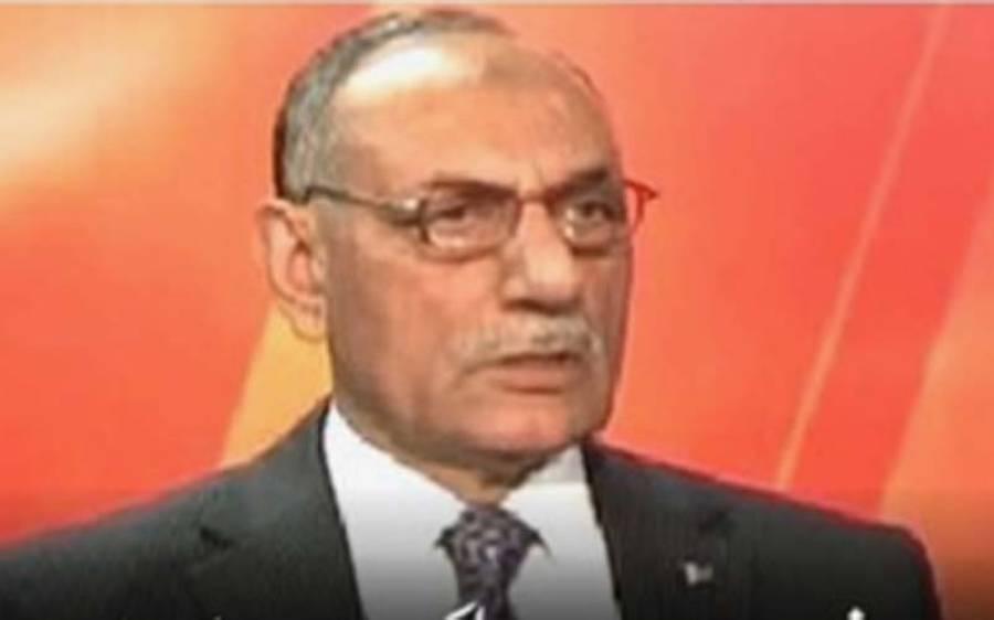 سیاسی مفادات کے لیے فوج کو بدنام کیاجارہا ہے:لیفٹیننٹ جنرل(ر)امجدشعیب