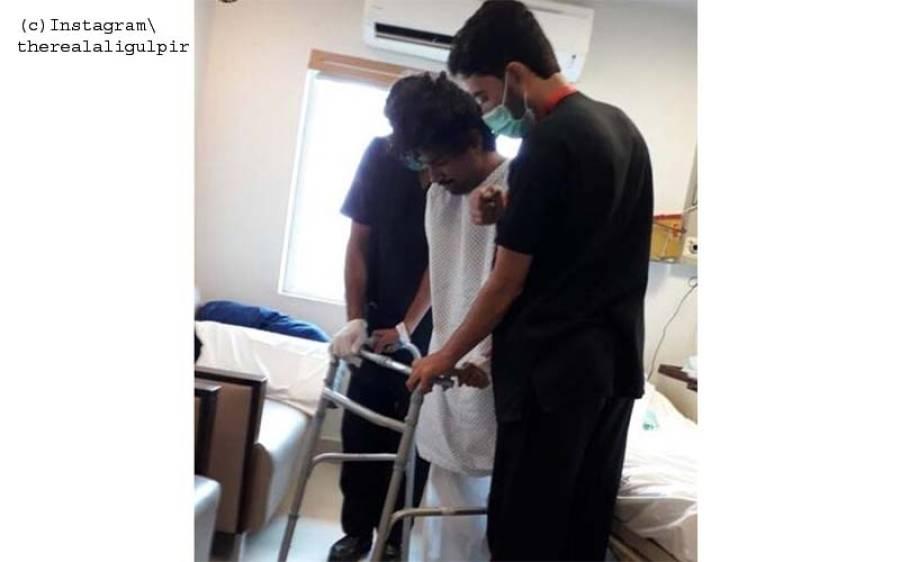 معرو ف گلوکار اور کامیڈین کی حادثے میں دونوں ٹانگیں ٹوٹ گئیں