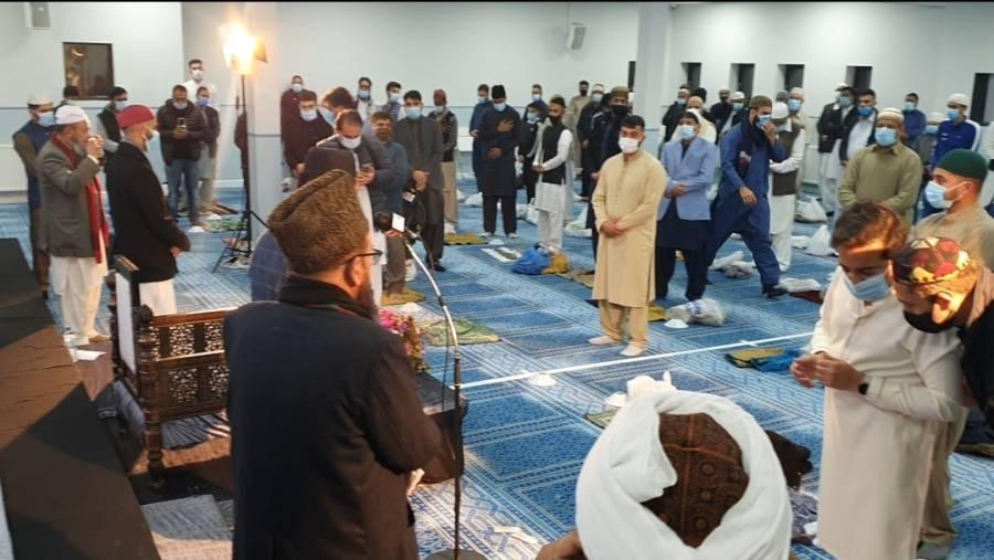 لیوٹن میں پیغمبر اسلام حضرت محمد مصطفیٰ ﷺ کا یوم ولادت منایا گیا ، گستاخانہ خاکوں کی بھی مذمت