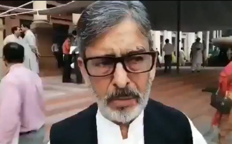 'ایاز صادق کے بیان کے بعد سر شرم سے جھک گیا، لندن میں بیٹھ کر بیانیہ دینے والے پاکستان واپس آئیں' لیگی رکن اسمبلی برس پڑے