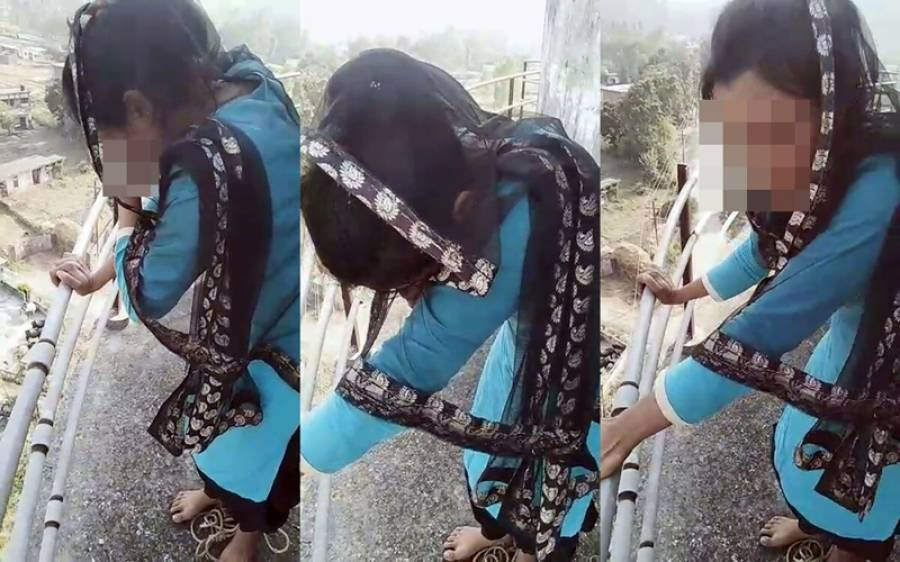 ' بسنتی ویرو بن گئی ' پیار میں دھوکہ کھانے کے بعد لڑکی 125 فٹ اونچی ٹینکی پر چڑھ گئی