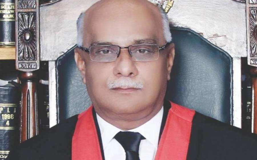 پشاور ہائیکورٹ کے چیف جسٹس وقار احمد سیٹھ کورونا کے باعث انتقال کر گئے
