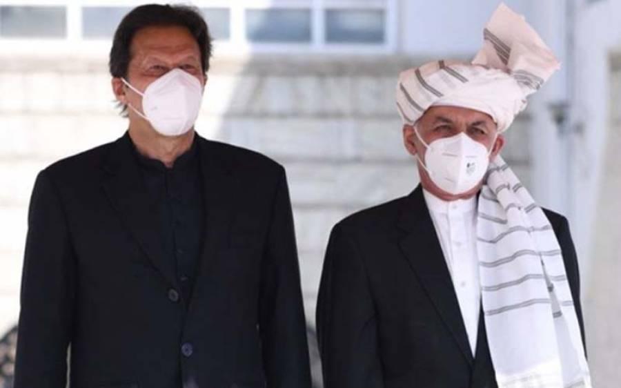 صدر اشرف غنی کا عمران خان کا شکریہ ادا کرتے ہوئے جلد پاکستان کا دورہ کرنے کا اعلان