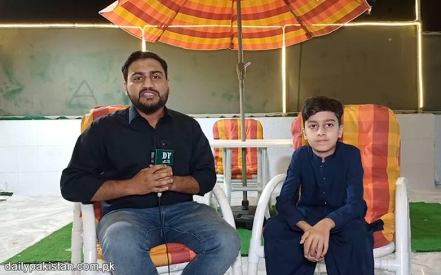 11 سالہ پاکستانی بچہ بھوکوں کے لئے مسیحا بن گیا ، خدمت خلق میں سب پر بازی لے گیا