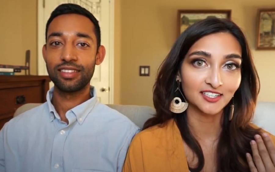 پاکستانی شوہر، بھارتی بیوی، سب سے انوکھے جوڑے کی واہگہ بارڈر سیر کی دلچسپ کہانی