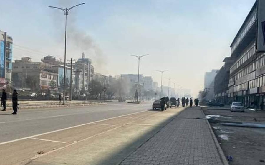 کابل شہر میں راکٹ حملے،پاکستان نے میدان میں آتے ہوئے بڑا اعلان کردیا