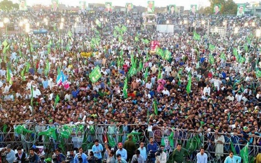 پشاور: پی ڈی ایم جلسے میں خودکش حملے کاخطرہ، سکیورٹی اداروں نے اہم کال ٹریس کرلی