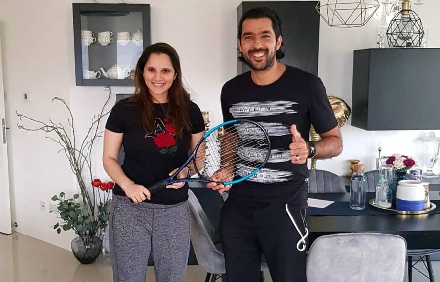 ثانیہ مرزا نے اپنا 'ریکٹ' پاکستانی ٹینس سٹار اعصام الحق کو دیدیا مگر کیوں؟