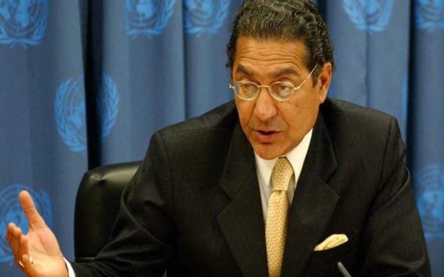 وزیرخارجہ کاخط صدر سلامتی کونسل کے سپرد کردیا،پاکستانی مستقل مندوب منیر اکرم