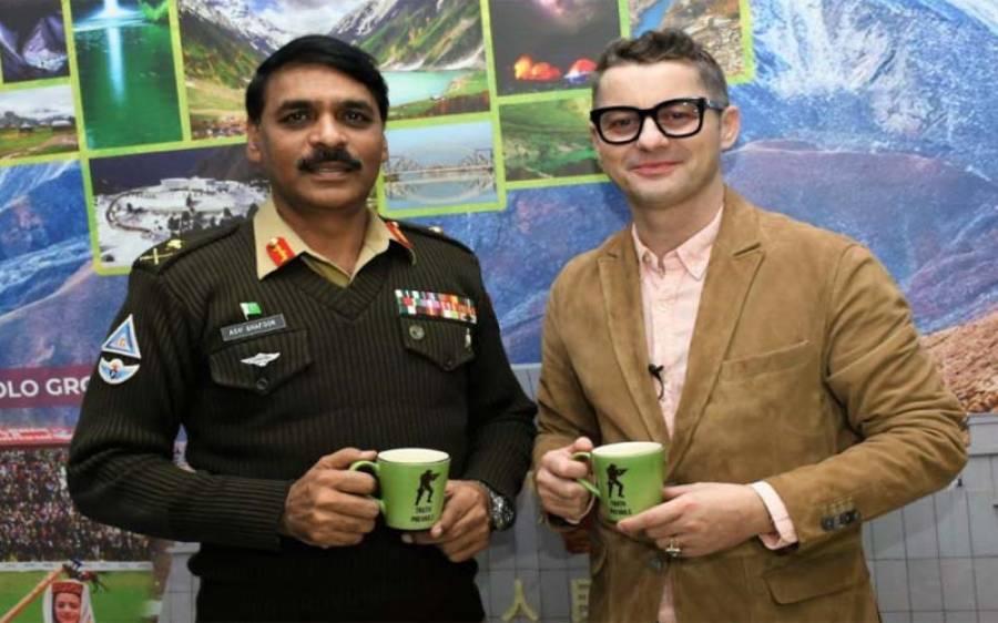 معروف بین الاقوامی بینڈ ایکسنٹ کے گلو کار نے لیفٹیننٹ جنرل آصف غفور کی پرموشن پر ایسی خواہش کا اظہار کردیاکہ بھارتیوں کو مرچیں لگا دیں