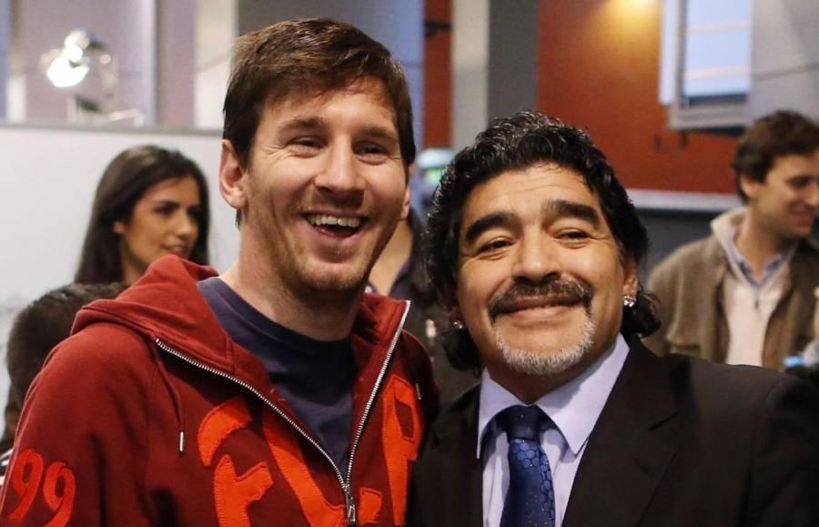 لیونل میسی کا ڈیاگو میراڈونا کو خراج تحسین، سب کی آنکھیں نم کر دیں