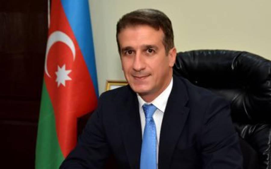 آذربائیجان کے سفیر کی آصف غفور کو ترقی پر دلچسپ انداز میں مبارکباد، دھوم مچ گئی