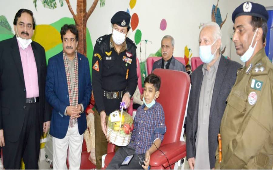 پنجاب پولیس کا تھیلیسیما کے مریض بچوں کے لئے بہترین اقدام،سن کر آپ بھی خوش ہوجائیں