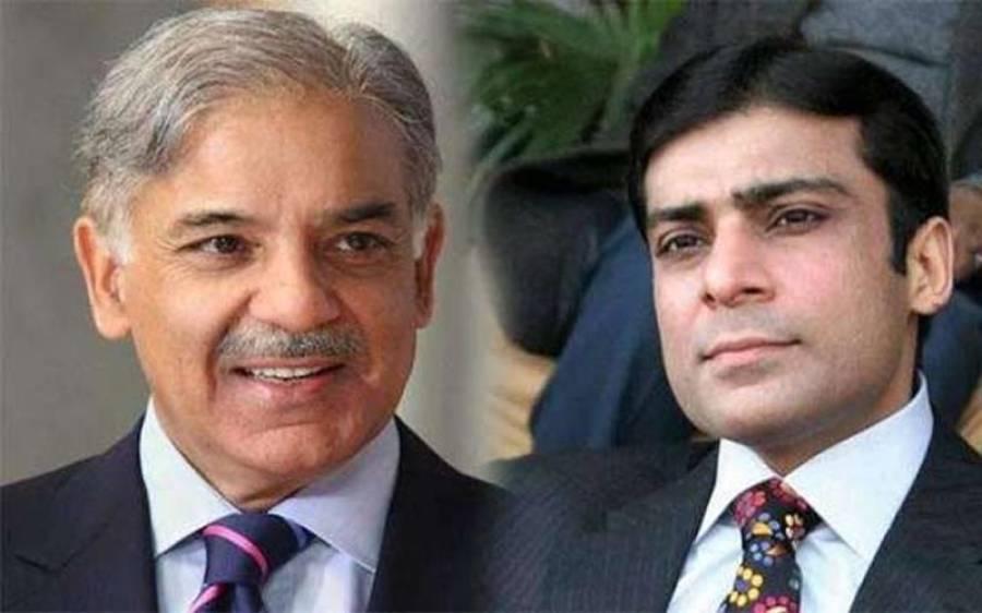 پنجاب حکومت نے شہباز شریف اور حمزہ شہباز کے پیرول میں توسیع کی درخواست مسترد کر دی