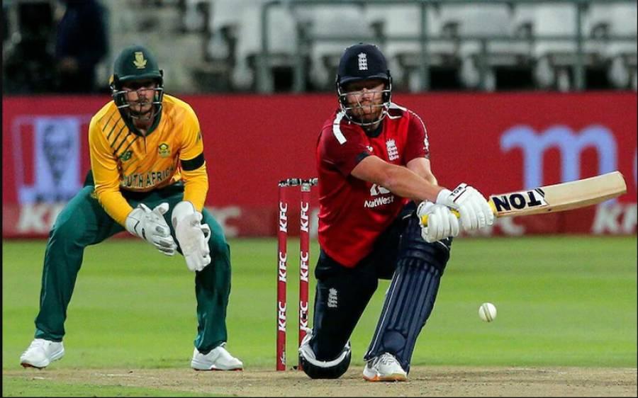ساؤتھ افریقہ کو ہوم گراونڈ پر شرمناک شکست،انگلینڈ نے ٹی 20 سیریز میں وائٹ واش کردیا