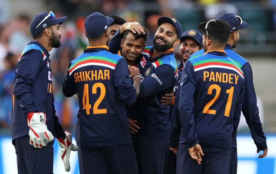 تیسرا ون ڈے، بھارت نے آسٹریلیا کو 13 رنز سے شکست دیدی