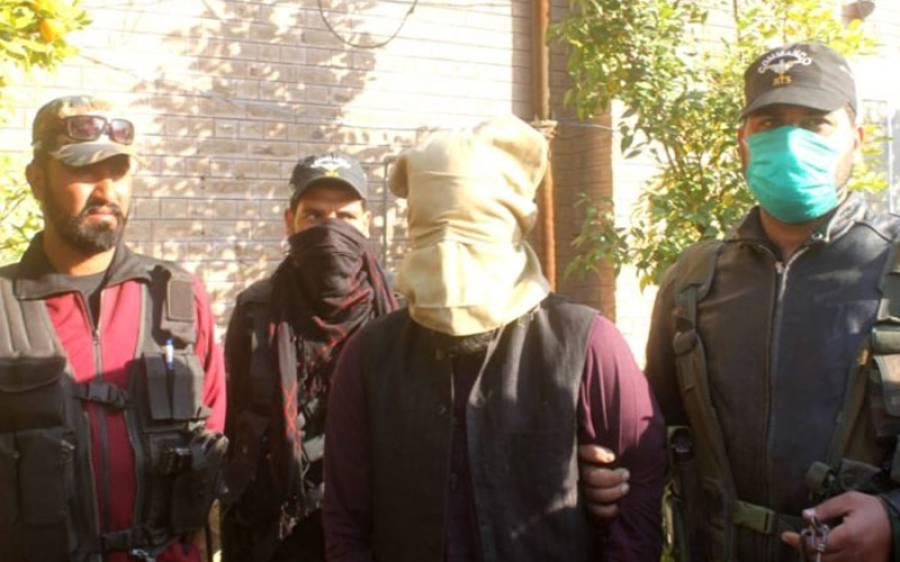 سکیورٹی فورسز کی بڑی کارروائی، خطرناک دہشت گرد گرفتار