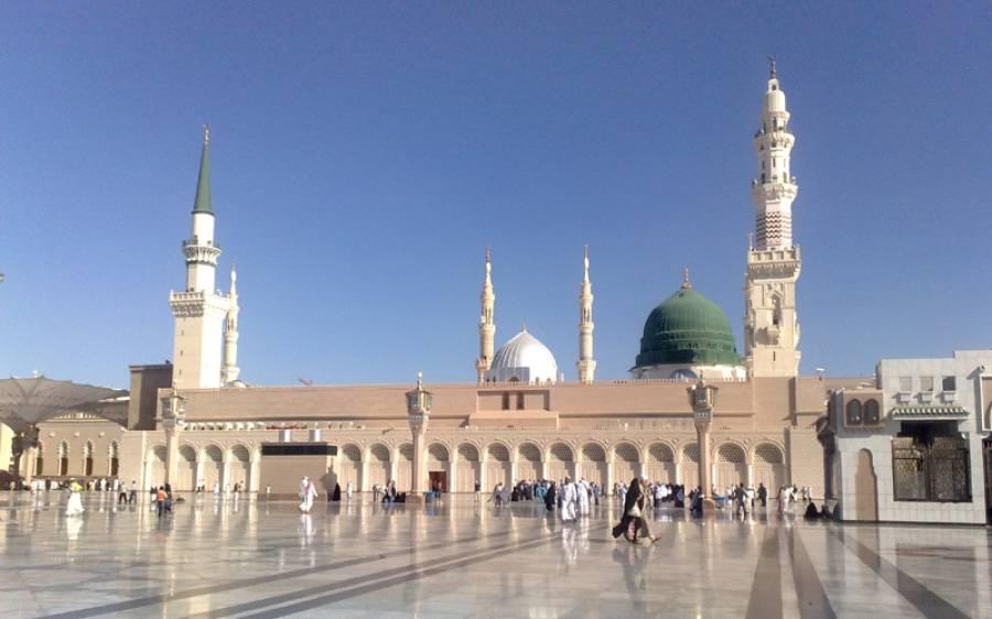مسلمانوں کیلئے خوشخبری،مسجد نبوی کی چھت نمازیوں کیلئے کھول دی گئی
