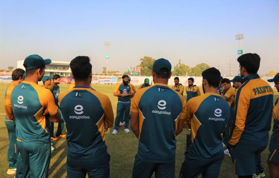 پاکستان کرکٹ ٹیم سال نو کے موقع پر قوم کو کامیابی کا پہلا تحفہ دینے کیلئے پرعزم