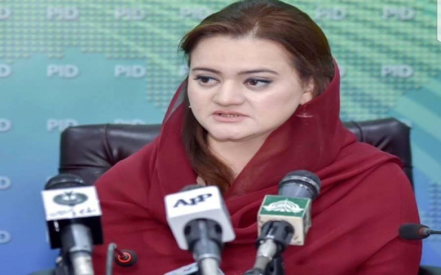 'سیف اللہ نیازی نے چیف الیکشن کمشنر سے ملاقات کی' مریم اورنگزیب نے بڑا دعوی کردیا