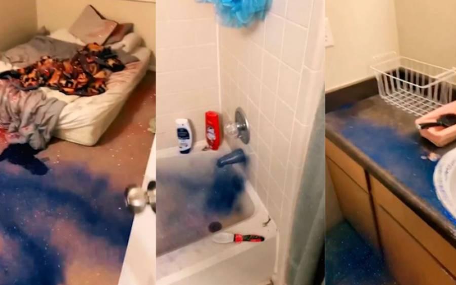 اپنے بوائے فرینڈ کو بے وفائی کرتے پکڑنے کے بعد لڑکی کا انوکھا اقدام ، اس کے گھر کا ایسا حشر کردیا کہ اب کئی دن صفائی کرتا رہے گا