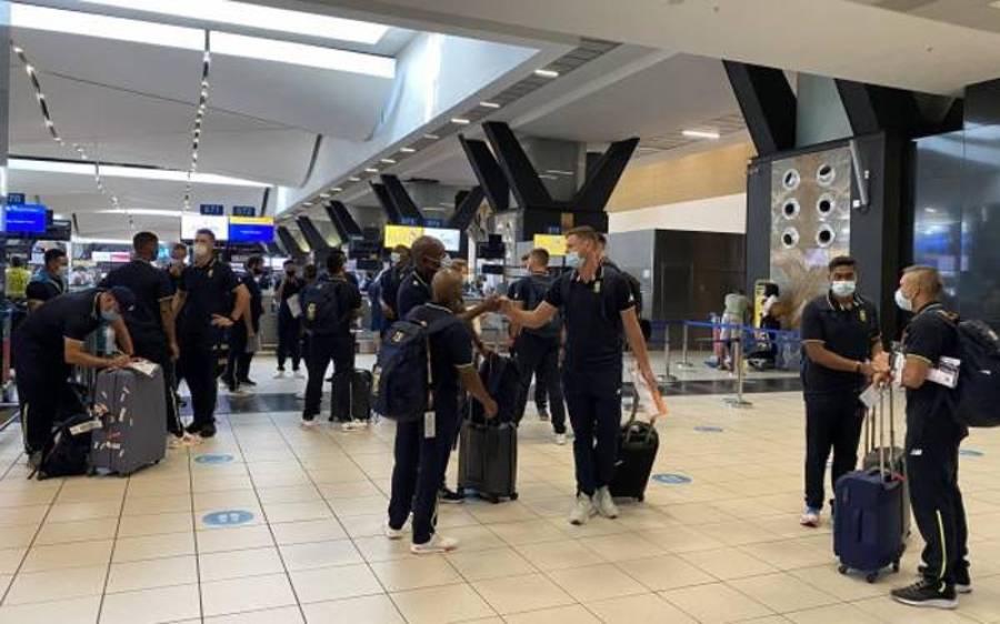 جنوبی افریقا کے تمام کھلاڑیوں اور ٹیم مینجمنٹ کے کورونا ٹیسٹ منفی آگئے