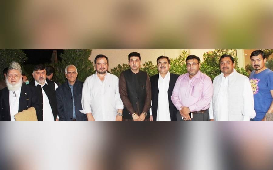 پاک خیبر ونگ دبئی کی جانب سے شریف احمد خان کے اعزاز میں الوداعی عشائیہ
